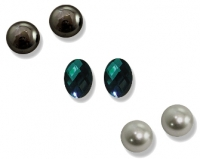 Three pairs of Magnetic Earrings